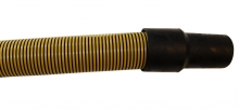 safety yellow stat path vac hose
