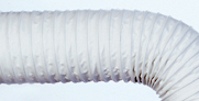 White  Hose Flexaust Ducting Hoses Plastic Duct Hose Material Weight